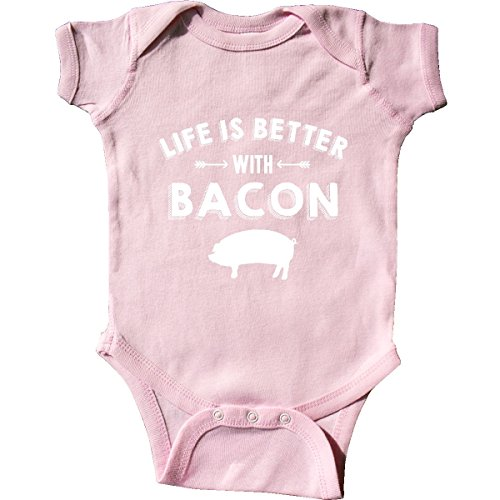 Life's Better With Bacon Infant Creeper
