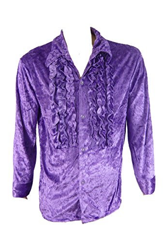 7679 (Large, Purple) ruffled Rubies Shir - Ruffled Tuxedo Shirt Shopping Results
