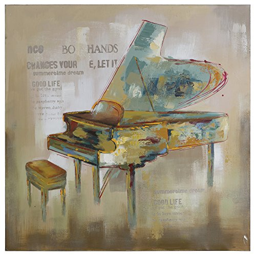 Yosemite Home Decor YG130273A Paris Piano Multi by Yosemite Home Decor