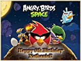 "Single Source Party Supplies - Angry Birds Cake Edible Icing Image #5 - 10.5"" x 16.5"" Rectangular"