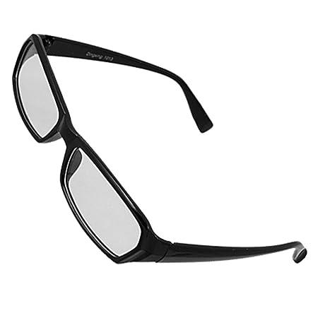 43049425626 Black Plastic Full Frame Clear Lens Glasses for Unisex  Amazon.co.uk  DIY    Tools