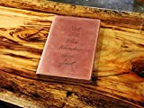"""Best Engraved Cases Gifts For Mothers - Leather Moleskine Notebook Cover 8.25"""" x 5"""" Review"""