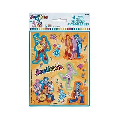 Doodlebops Sticker Sheets - 4/Pkg.: Kitchen & Dining