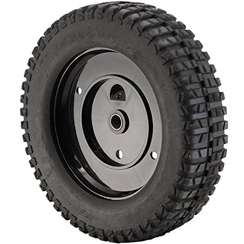 Mtd 734-2010B Lawn Mower Wheel, Rear Genuine Original Equipment Manufacturer (OEM) Part