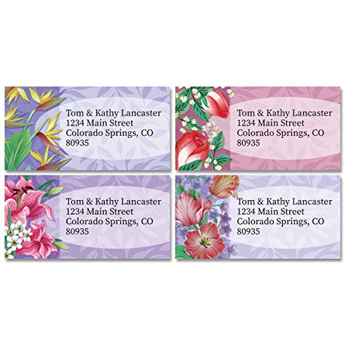 Fantasy Personalized Return Address Labels – Set of 144, Large, Self-Adhesive, Flat-Sheet Labels with Border (12 Designs), By Colorful Images -