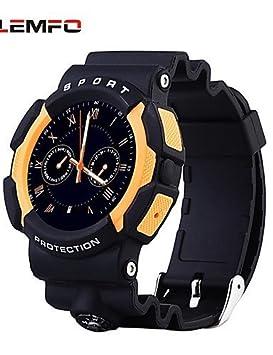 A10 impermeable Deportes al aire libre reloj inteligente con brújula Aventura dispositivos Bluetooth smartwatchwearable para Apple iOS y Android: Amazon.es: ...