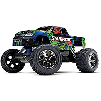 Amazon com: Traxxas 67086-4 Stampede 4X4 1/10 Monster Truck
