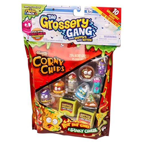 The Grossery Gang Corny Chips 10 Figure Pack