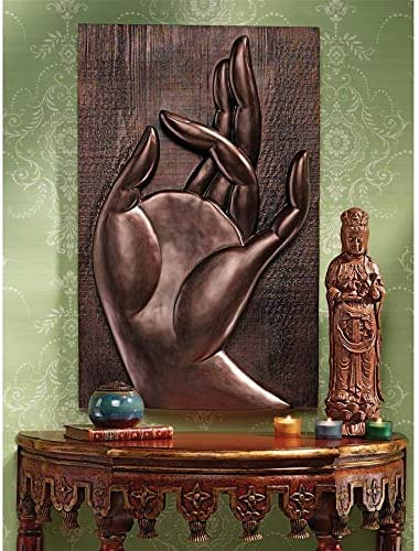 Design Toscano Mayura Mudra Buddhist Wall Sculpture