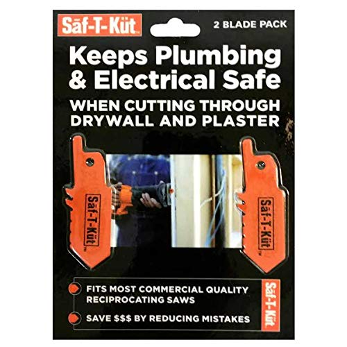 (Saf-T-Kut Reciprocating Saw Blades for Drywall (2-Pack))