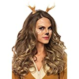 Leg Avenue Women's Fawn Horn Headband, Brown, One Size