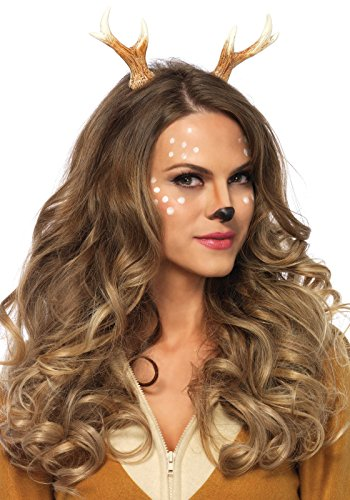 [Leg Avenue Women's Fawn Horn Headband, Brown, One Size] (Fawn Costumes For Adults)