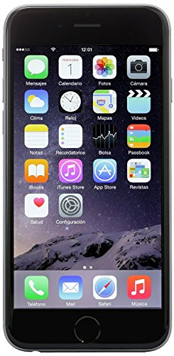 Apple iPhone 6, T-Mobile, 16GB - Space Gray (Certified Refurbished) (Phone T Mobile Gb 16 6 I)