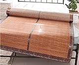 Bamboo Mat Carbonized Bamboo Mat Student Mat 1.5 Summer Simple Mat Single ZXCV (Size : 1.2m)