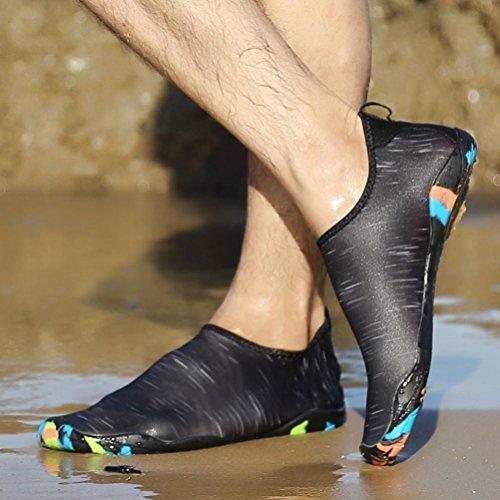 Shoes 1 Yoga Swim Shoes Beach Pair Swimming Men Socks Unisex Socks Women Black Snorkeling Diving WYXlink Print Surf Sport q1x4TtfC