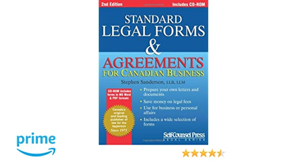 Standard Legal Forms Agreements Prepare Your Own Legal Documents - Standard legal documents