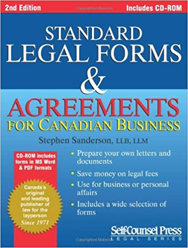 Standard Legal Forms Agreements Prepare Your Own Legal Documents - Legal forms canada