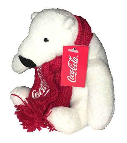 Coca-Cola Polar Bear Beanbag Plush