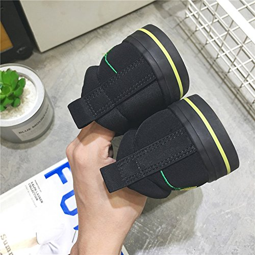 HUAN Shoes Mens Loafers Yellow Work Shoes Canvas Student Flat Shoes Breathable Espadrilles Comfort Fashion Casual rwAtrB