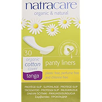 41ff789df5ce Natracare Natural Panty Liners, Tanga, 30 Count Boxes