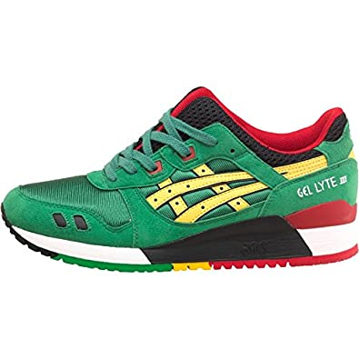 Mens Asics Tiger Gel Lyte III Carnival Pack Jamaica Trainers