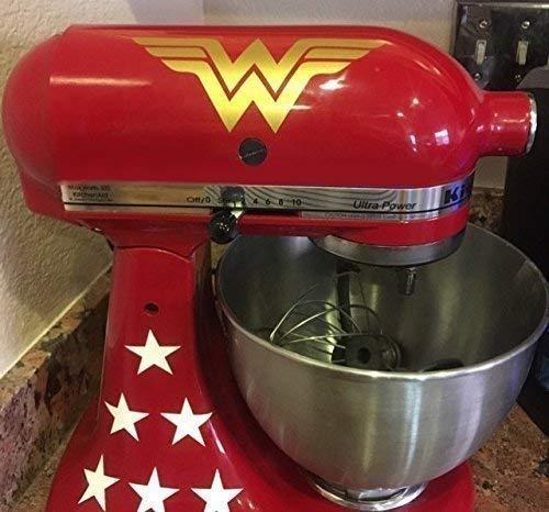 Top 1 best wonder woman kitchen aid decal 2020