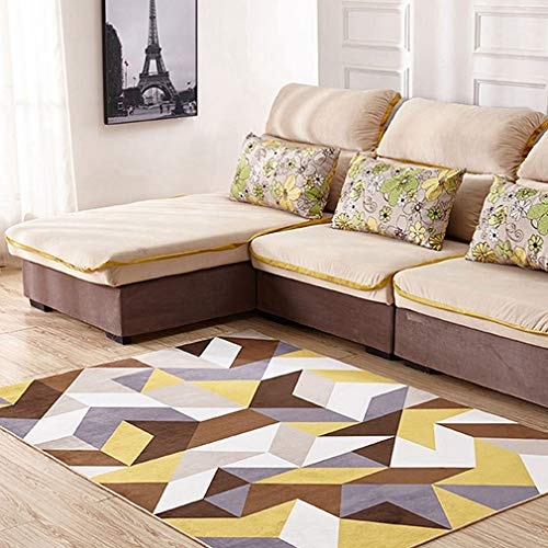 - GIY Geometric Living Room Area Rugs 3D Rug Rectangular Carpets Children Bedroom Mats Outdoor Indoor Home Decor Runners 4' X 5'