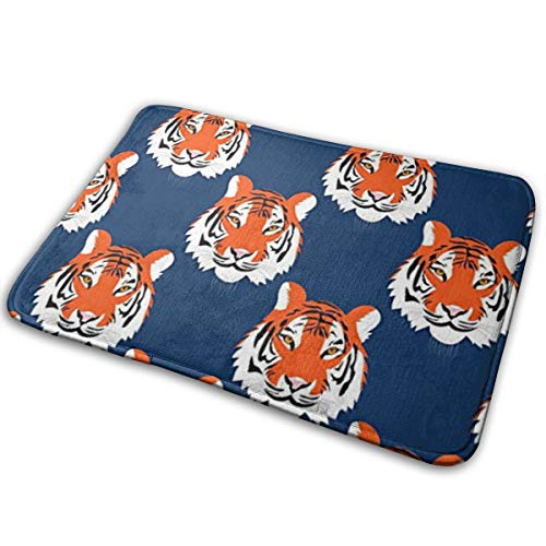 TERPASTRY Jungle Tigers in Auburn Colors Doormat Home