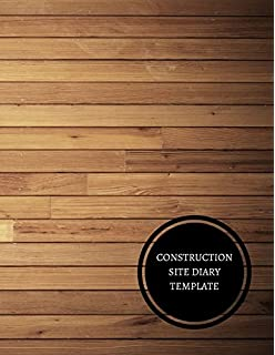 construction site register construction log book amazon co uk