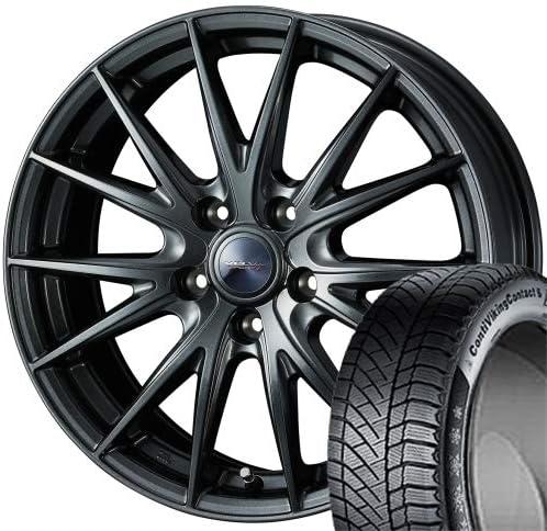 [225/60R18] CONTINENTAL/VIKING CONTACT 6 SUV スタッドレス [Weds/VELVA SPORT2 (DM) 18インチ] スタッドレス&ホイール4本セット レクサスNX(10系)