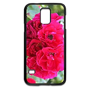 Samsung Galaxy S5 Cases Flower Design Hard Back Cover Shell Desgined By RRG2G