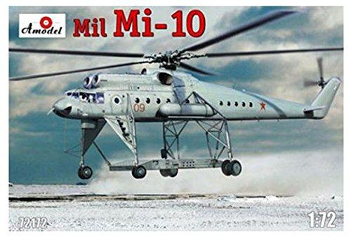 A Model 1/72 ミルMi-10大型重機運搬ヘリコプター長脚型 AM72172 プラモデル B019XPZXF4
