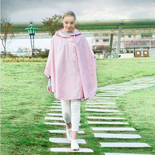 Espesante Impresión Mujeres Adulto Fashion Clásico Libre Impermeable Con Capucha Laisla 1 Poncho Moda Al Aire Rayas azw0FqA6