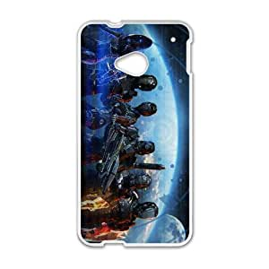 Mass Effect 3 HTC One M7 Cell Phone Case White Customize Toy zhm004-7407539