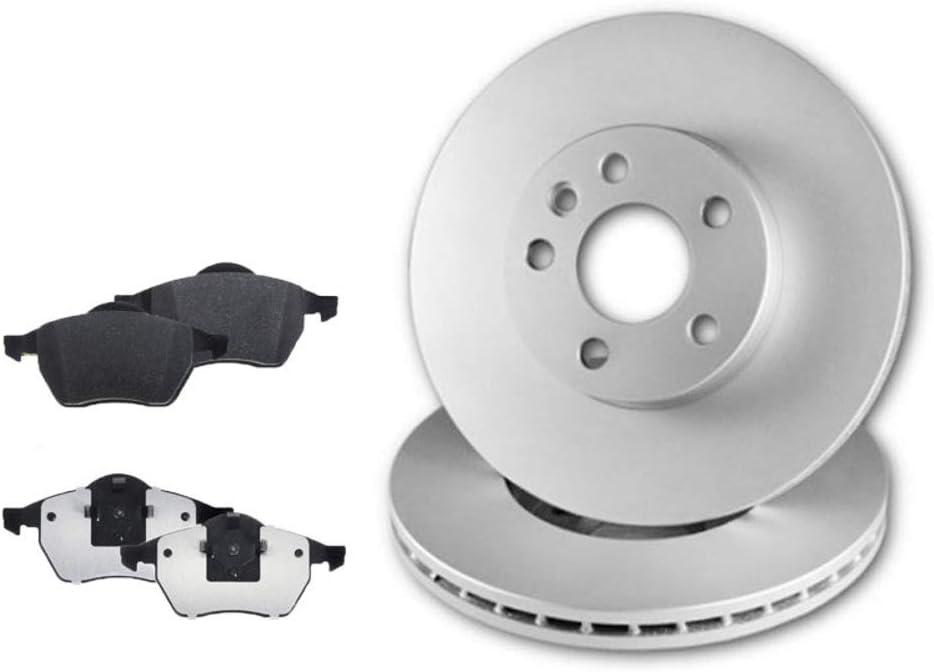 2 Bremsscheiben Bel/üftet und Bremsbel/äge Bosch Vorne P-O-01-00835 Bremsensatz Bremsanlage