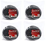 4 Rockville RCTT12100 100' 12 AWG 1/4'' TS to 1/4'' TS Speaker Cable 100% Copper