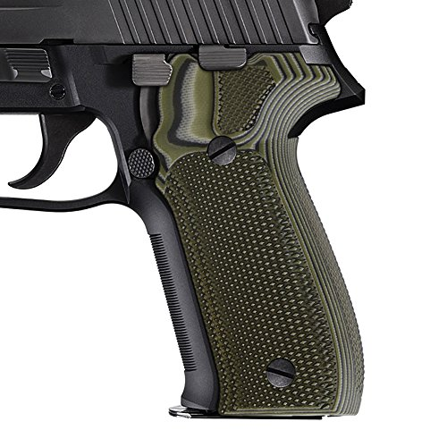 Sig Sauer P226 Grips, Cool Hand Brand, OD Green/Black G10...