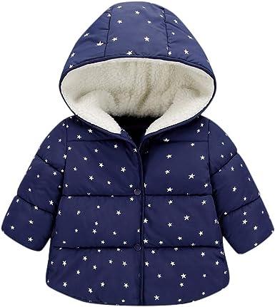 WARMSHOP Toddler Baby Boys Girl Fleece Jacket Cartoon Ear Hooded Zipper Windproof Thick Warm Coat Outwear Winter Cloth
