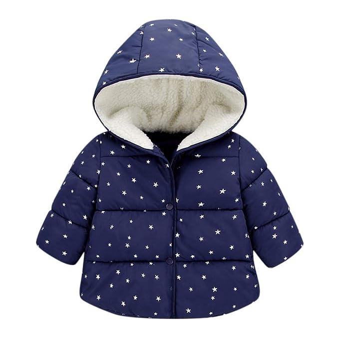 ASHOP Ropa Bebe, Niña Chaqueta de Invierno con Capucha Caliente Impermeable Abrigo para 0-4 Años: Amazon.es: Ropa y accesorios