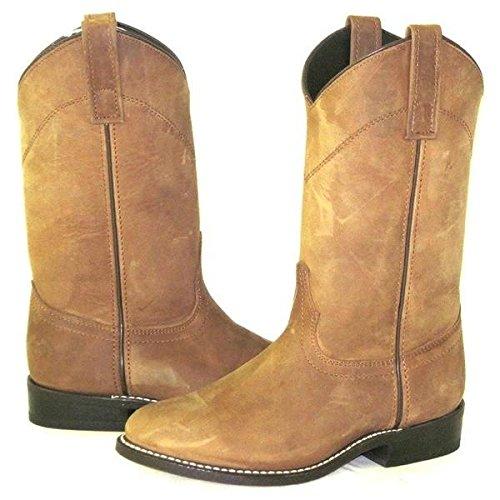 Laredo Roper Boot - Tan Distressed - Size: 6.5