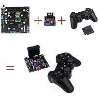 6 way steering gear control +2 motor control panel / caterpillar robot control system handle / Bluetooth remote control