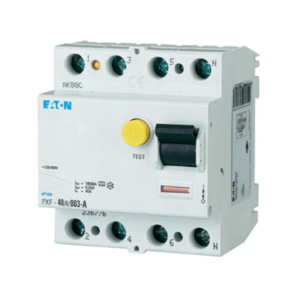Eaton 236776 Fi-Schutzschalter 4-polig 40A 30mA PXF-40/4/0,03A ...