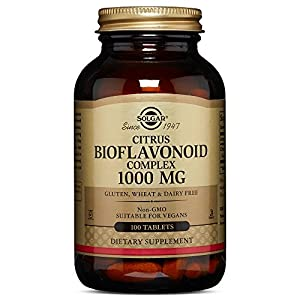 Solgar – Citrus Bioflavonoid Complex, 1000 mg Tablets