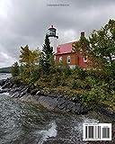 Michigan Lighthouses 2019: Michigan Lighthouse 2019 Daily Planner Calendar Journal Lake Superior Lake Michigan Lighthouses