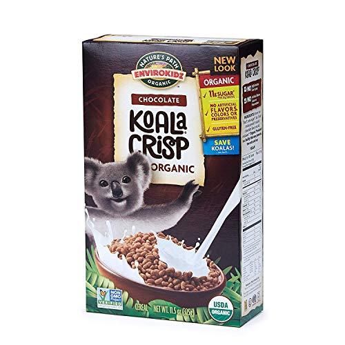 Nature's Path EnviroKidz Koala Crisp Chocolate Cereal, Healthy, Organic, Gluten-Free, 11.5 Ounce -