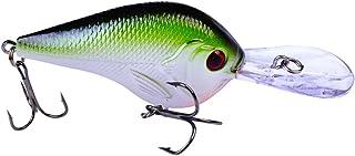 Kenthia 10pcs 9.5cm 10.11G Dur Manivelle Leurres Leurres de pêche Yeux 3D Plastique Artificielle Leurres