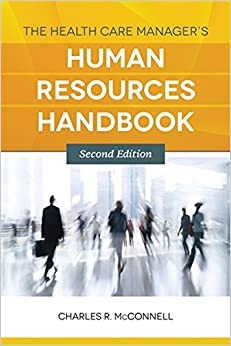 Book The Health Care Manager's Human Resources Handbook