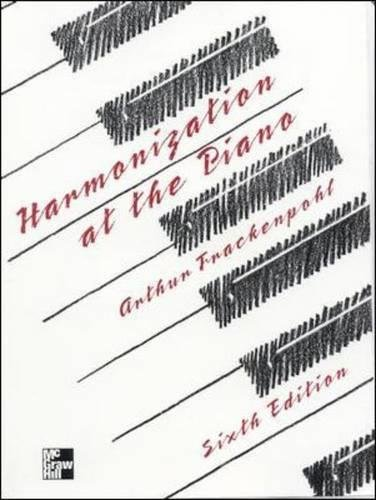 Harmonization at the Piano by Wm. C. Brown Publishers