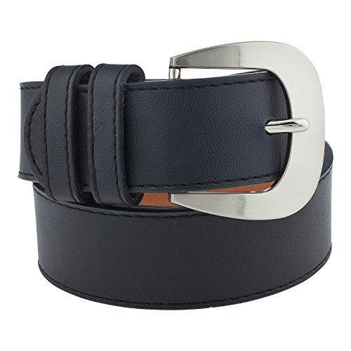 Detailed Leather Belt - Faux Leather 1.5