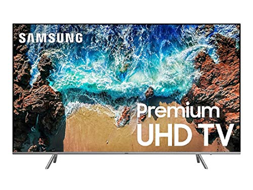 "Samsung UN82NU8000FXZA Flat 82"" 4K UHD 8 Series Smart LED TV (2018)"